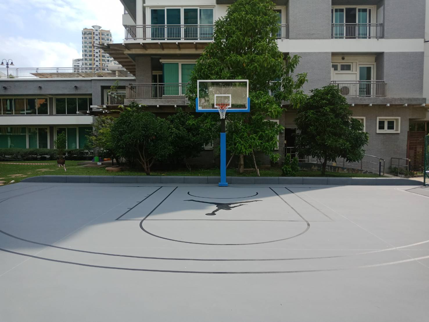 ฺBasketball Single Post System
